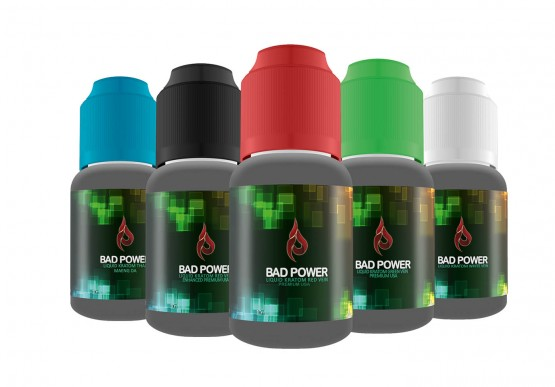 Bundle BAD POWER Red, Green, White, Enhanced Red Vein und Maeng Da, jeweils 10ml Liquid Kratom, 50ml